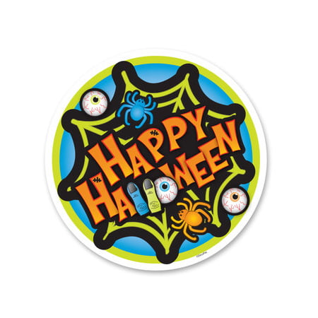 Happy Halloween Edible Icing Image Cake Decoration Topper -1/4 Sheet - Halloween Cake Delivery