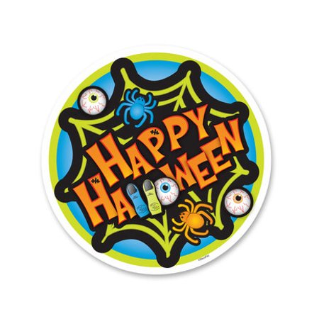 Happy Halloween Edible Icing Image Cake Decoration Topper -1/4 Sheet](Pumpkin Themed Halloween Cake)