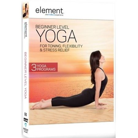 Element: Beginner Level Yoga for Toning Stress Relief & Flexibility (DVD) - Beginner Level