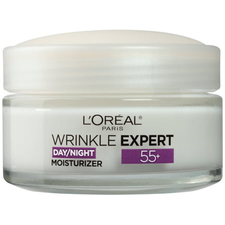 L'Oreal 55+ Wrinkle Expert Day/Night Moisturizer, 1.7 fl