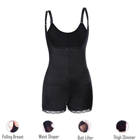 All In One Shaper - SLIMBELLE Women's Body Shaper Waist Cincher Corset Bodysuit Shapewear SLIM All Day Long