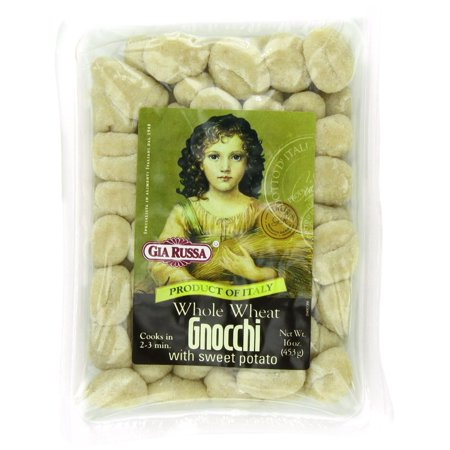 Gia Russa Whole Wheat Gnocchi with Sweet Potato, 16-Ounces (Pack of 6)