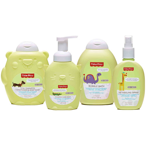 Fisher-Price Toddler Bath & Body Variety Gift Set, 4 pc