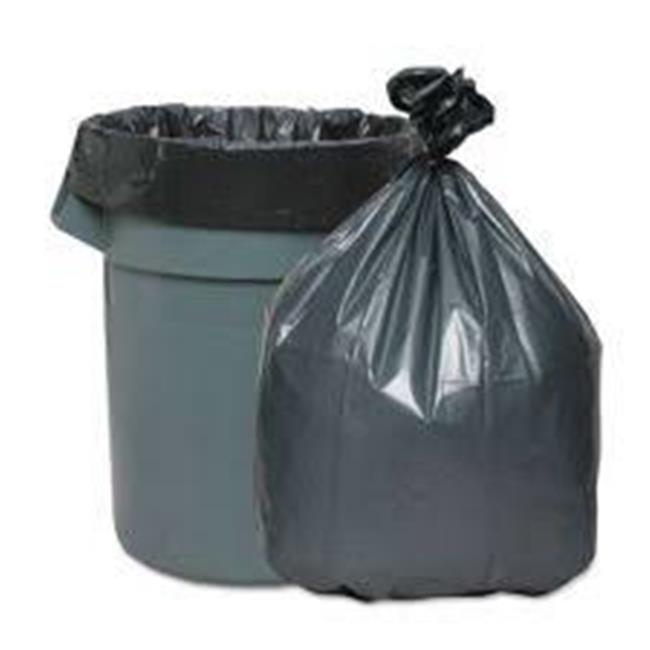 Webster Industries PCM3658 58 x 36 in. Low-Density Can Liners, 0.85 Mil - Black