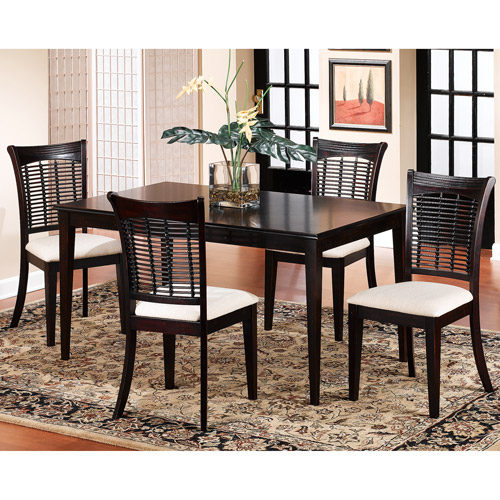 Captivating Hillsdale Bayberry Rectangle Dining Table, Dark Cherry