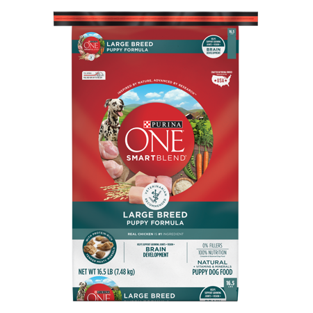 Purina ONE SmartBlend Natural Large Breed Formula Dry Puppy Food - 16.5 lb. - A Halloween Puppy