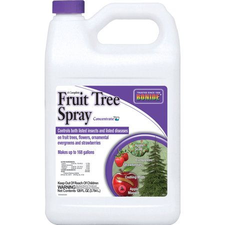 Bonide Products Gallon (Bonide Products Inc P-Fruit Tree Spray Concentrate 1 Gallon )