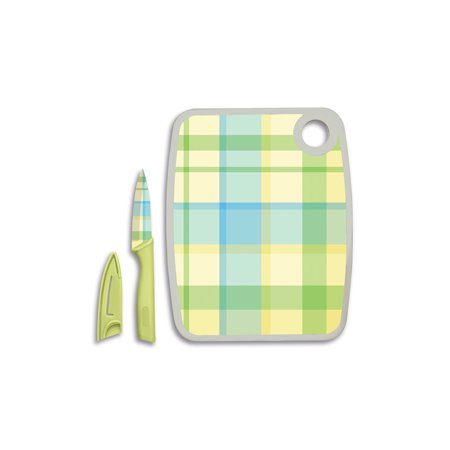 Cook Works Cutting Board and Paring Knife Set