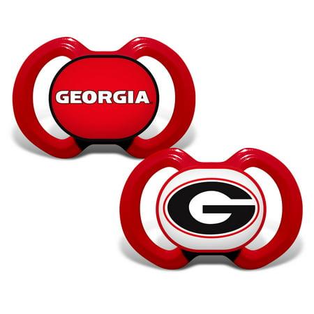 Adult Pacifier (NCAA Georgia 2-Pack Pacifiers)