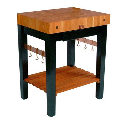 John Boos Rn Ppb Rouge Et Noir Pro Prep Table With Butcher Block Top Size