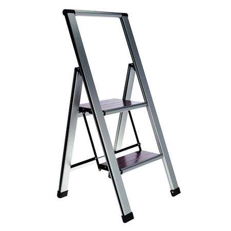 Wood Folding Ladder (Ultimate Innovations Light Weight Folding 2 Step Ladder)
