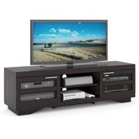 "CorLiving Granville Wood Veneer TV Stand for TVs up to 80"""