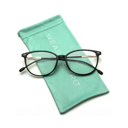 WearMe Pro - Elegant Classic Thin Frame Women Cat Eye Prescription (Where To Find Non Prescription Glasses)