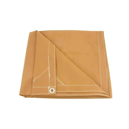 10' x 16' Tan Canvas Tarp 12oz Heavy Duty Water Resistant ()