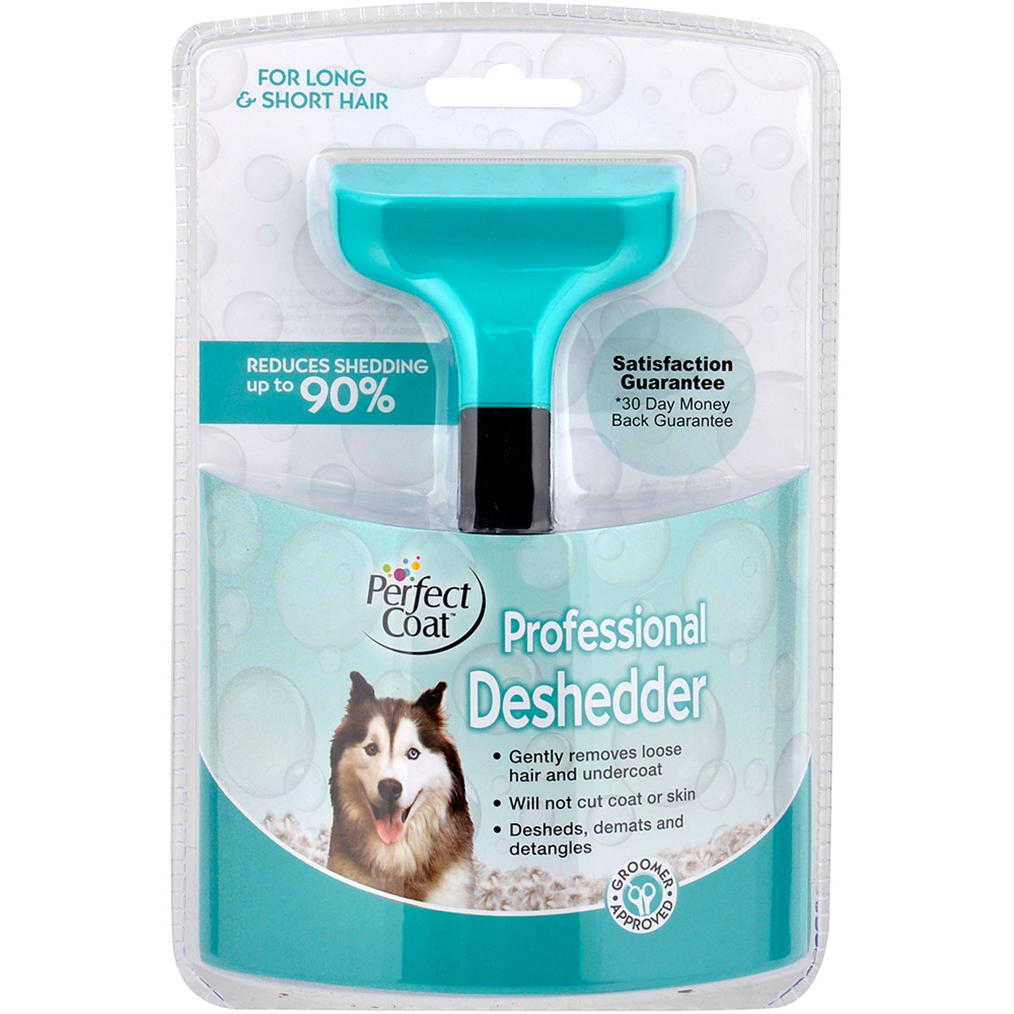 PerfectCoat Deshedding Tool for Dogs of All Sizes