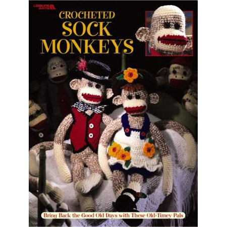 Crocheted Sock Monkeys (Leisure Arts #3130)](Monkey Crafts)