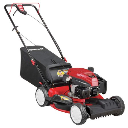 """Troy-Bilt 21"""" TB210 Self-Propelled 3-in-1 Front Wheel Drive Gas Mower with 159CC OHV Engine 12AVA2MR766"""
