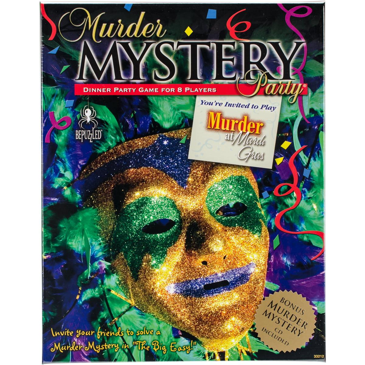 Murder Mystery Party GameMurder At Mardi Gras
