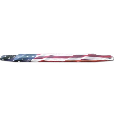 Stampede 2911-41 Bug Shield, Acrylic Patriotic