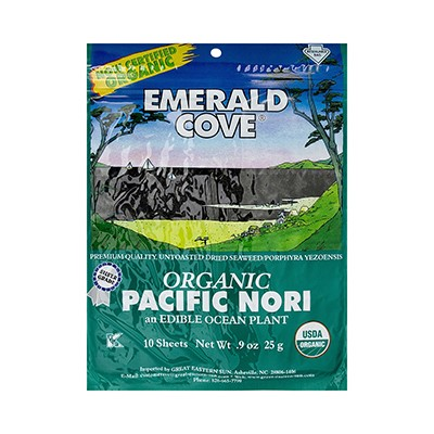 Emerald Cove Organic Nori SHeets, 0.9 Oz by Emerald Cove