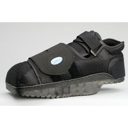 Post-op Shoe, Off-loading Rearfoot, Medium, Black, 1 EACH