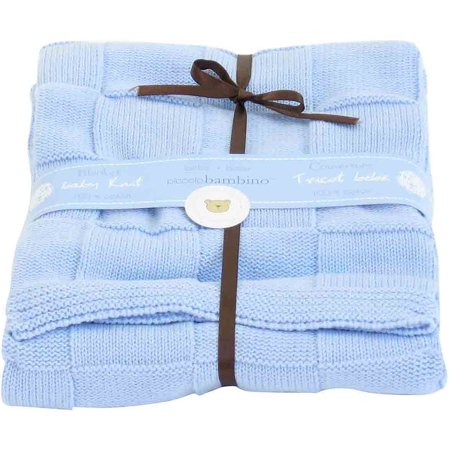 Piccolo Bambino Checkered Blanket (Choose Your Color)