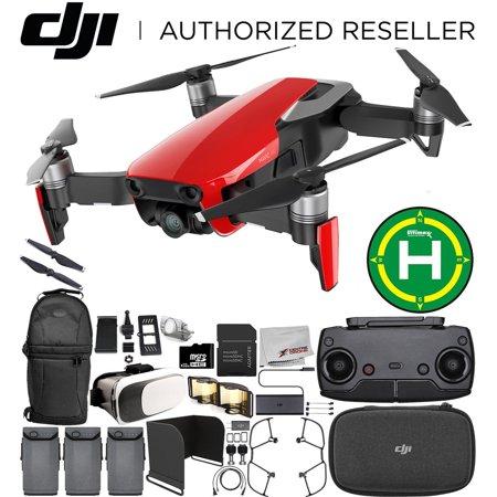 DJI Mavic Air Drone Quadcopter (rouge flamme) TOUT CE QU'IL VOUS FAUT Ultimate Bundle - image 4 de 4