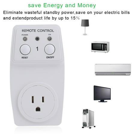 Wireless Smart Electrical Light Remote Control Outlet