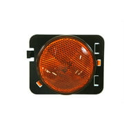 Crown Automotive 55078144AA CAS55078144AA SIDEMARKER LAMP, AMBER (FRONT RIGHT)