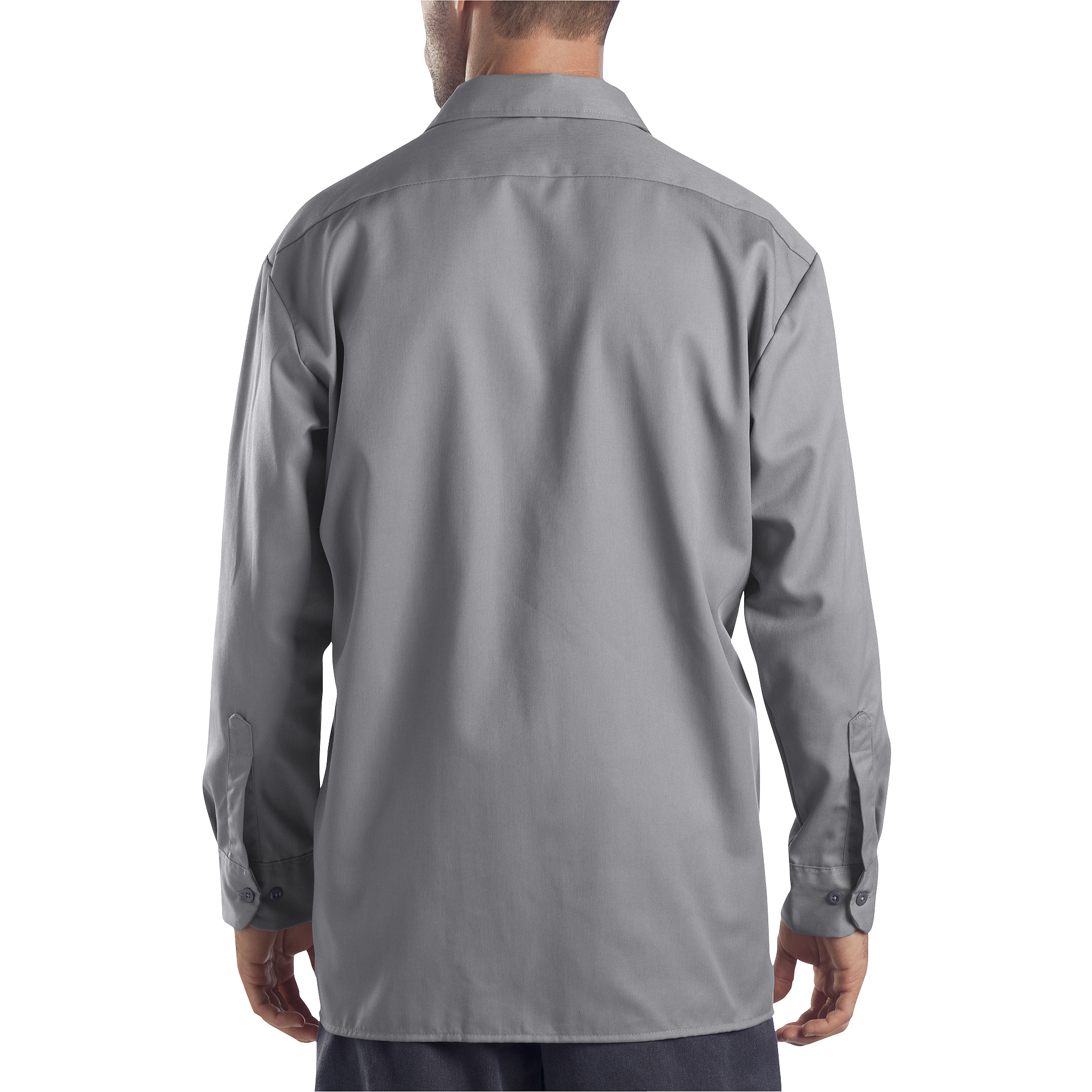 Dickies Men's Original Fit Long Sleeve Twill Work Shirt - Walmart.com