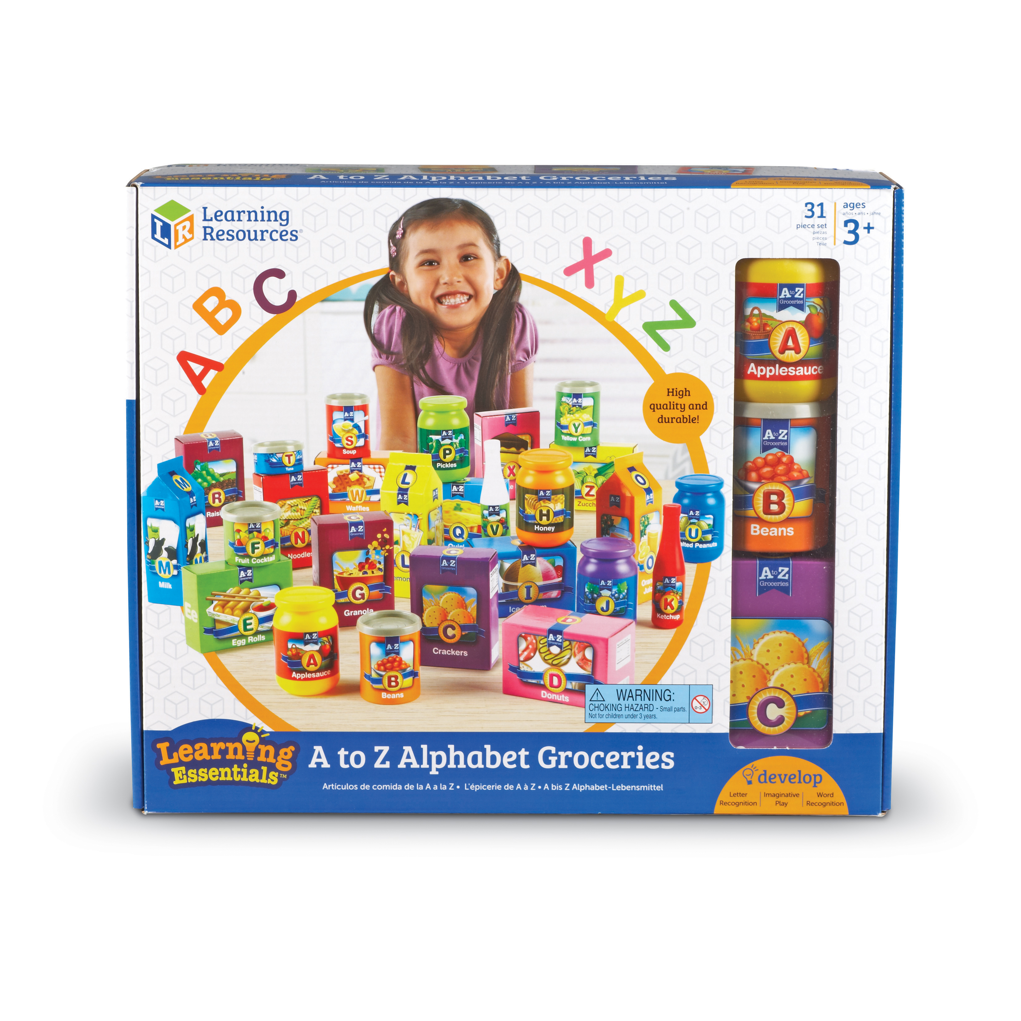 Learning Essentials - A to Z Alphabet Groceries