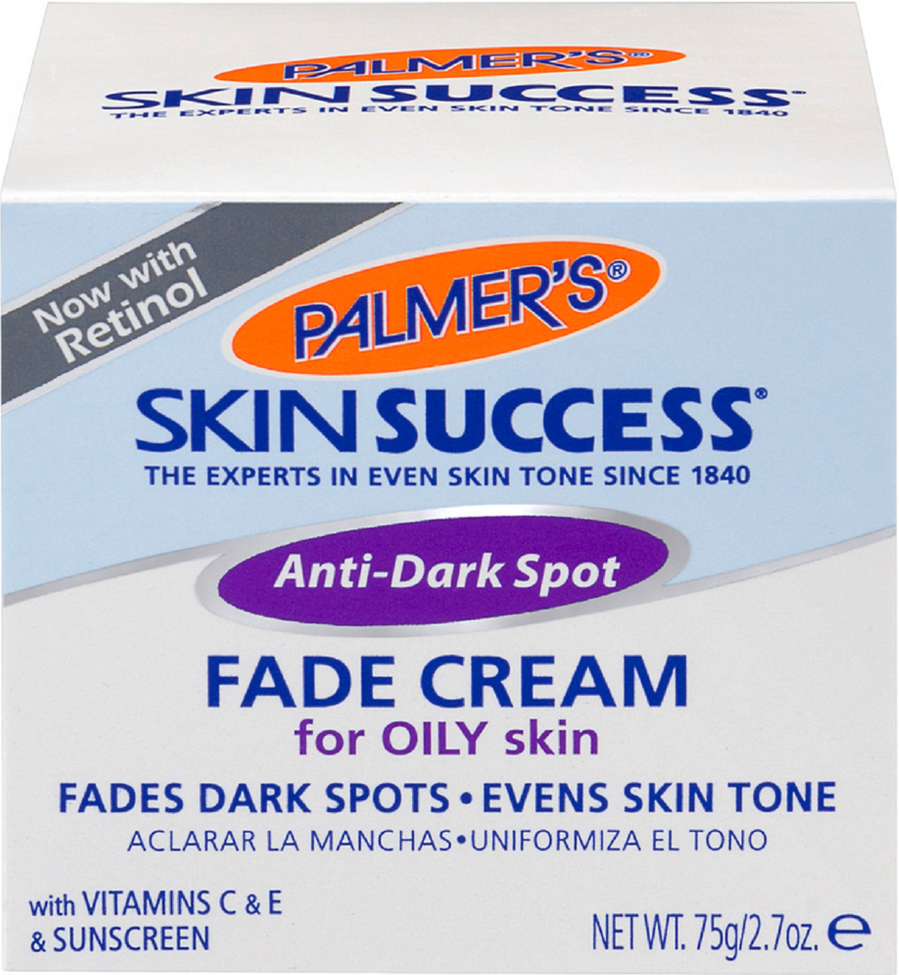 4 Pack - Palmer's Skin Success Anti-Dark Spot Fade Cream for Oily Skin 2.70 oz