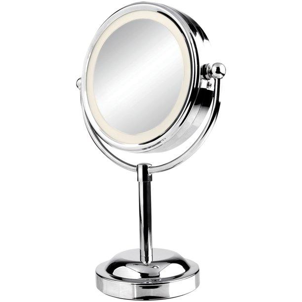 Vivitar Mr 2100c Double Sided Lighted Vanity Mirror Walmart Com