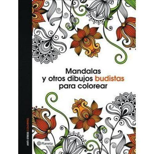 Mandalas Y Otros Dibujos Budistas Para Colorear Libro De Colorear