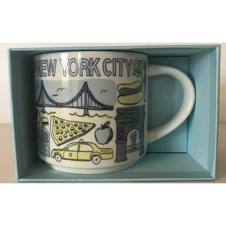 Starbucks Been There Series Collection New York City Coffee Mug New With - Halloween Coffee Mugs Starbucks