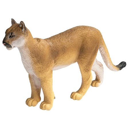 Safari Ltd. Wildlife Wonders - Florida Panther - XL - Realistic Hand Painted Toy Figurine Model - Quality Construction from Phthalate, Lead and BPA Free Materials - for Ages 3 and Up