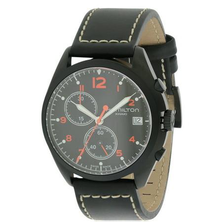 Hamilton Pilot Watch - Hamilton Pilot Pioneer Chronograph Mens Watch H76582733