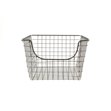 Spectrum Diversified Scoop Medium Basket, Industrial Gray, 98976 400 Mm Basket