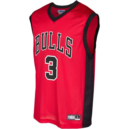 (NBA Chicago Bulls Men's Wade Team Replica Jersey)