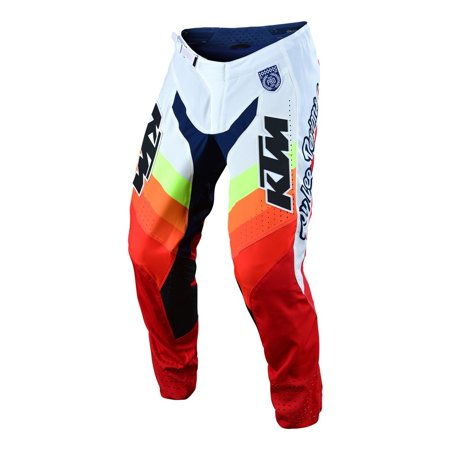 Troy Lee Designs 2019 SE Pro Pant - KTM Mirage White/Red - 38