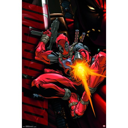 Trends International Deadpool Jump Wall Poster 22.375