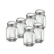 Style Setter Classic Octagon 6 Piece Canning Jar Set (Set of 6)