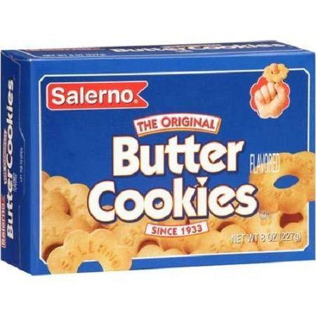 Salerno Cookies  The Original Butter Cookies  8 Oz