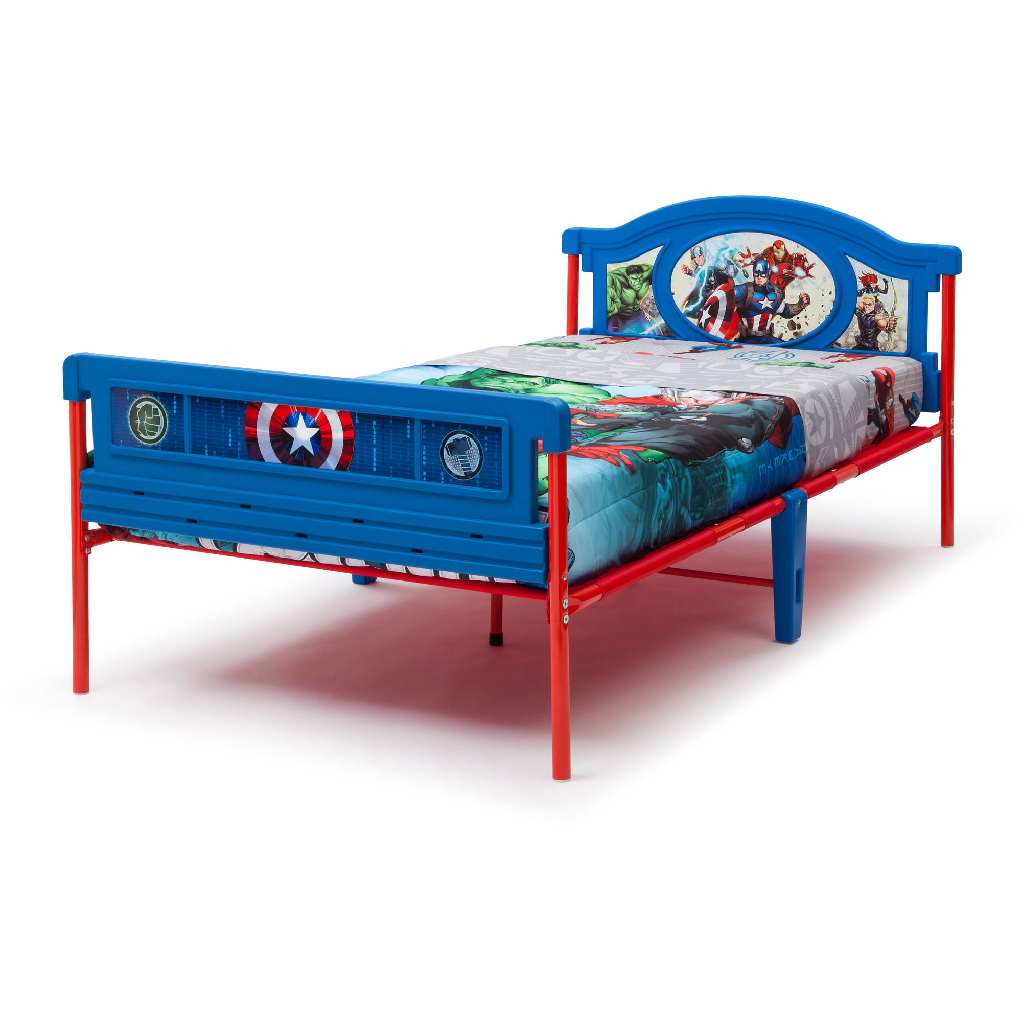 Marvel Avengers Plastic Twin Bed Toddler