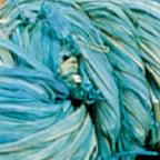 Light Blue Snail Bundled Natural Raffia Ribbon 0.3mm x 300 Yards