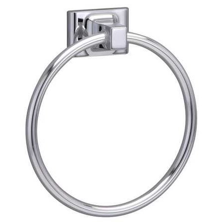 - TAYMOR 01-9404 Towel Ring,Polished Chrome,Sunglow,6 In