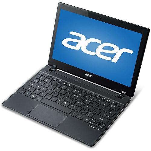 "Acer Black 11.6"" TravelMate B TMB113-M-6889 Netbook PC with Intel Core i3-3217U Processor, 4GB Memory, 500GB Hard Drive and Windows 8 Pro"