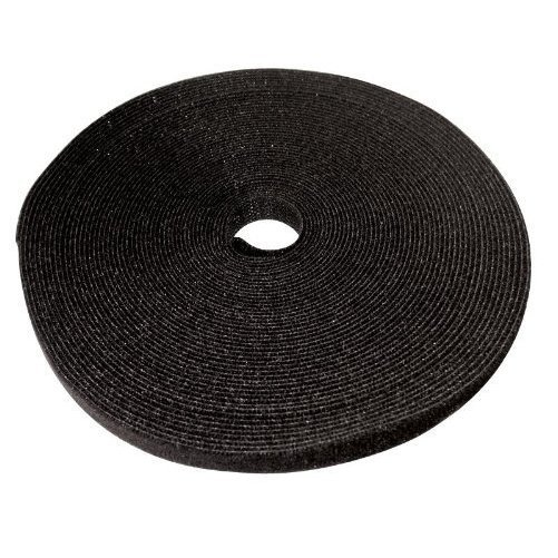 Eclipse 902-035 Hook and Loop Tape - Black (50 ft per roll)