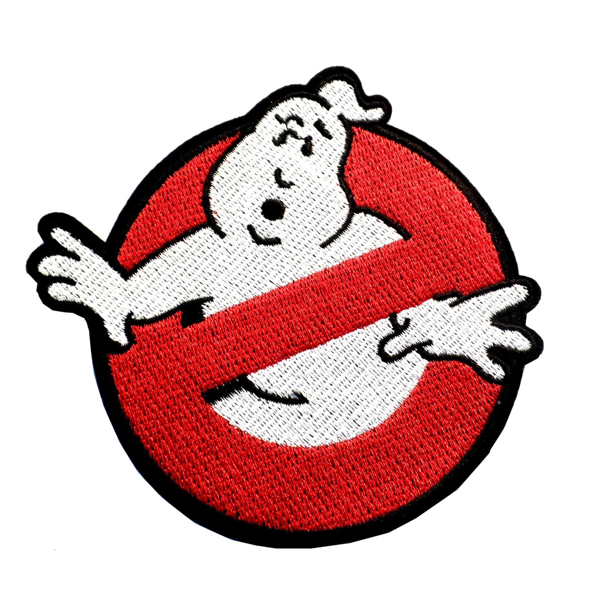 "Superheroes Ghostbusters 5"" Movie Logo Embroidered Iron/Sew-on Applique Patch"