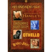 Shakespeare Collection: Hamlet   A Midsummer Nights Dream   Othello   Romeo And Juliet by WARNER HOME ENTERTAINMENT